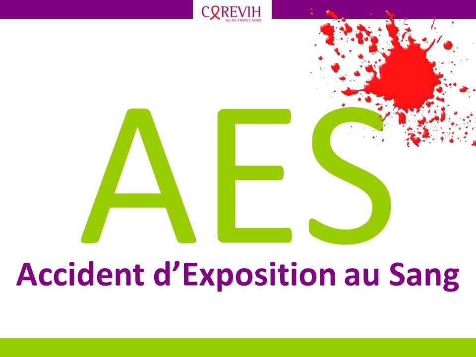 AES : Accident d'Exposition au Sang