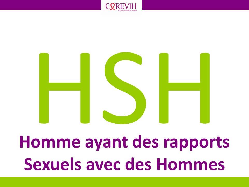 HSH : Homme ayant des rapports Sexuels avec des Hommes