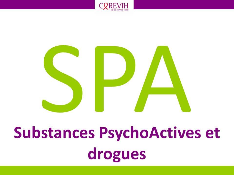 Substances psychoactives et drogues