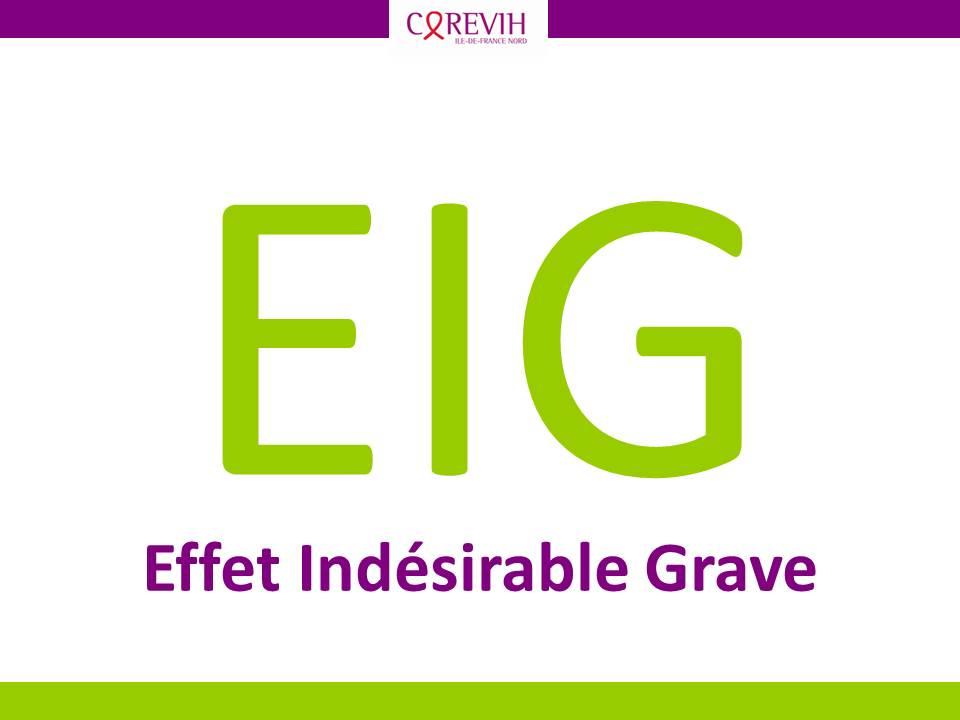 Effet indésirable grave