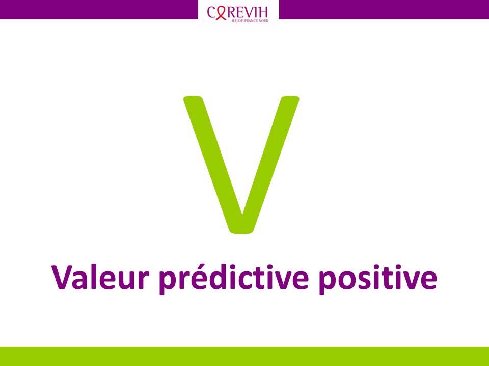 Valeur prédictive positive