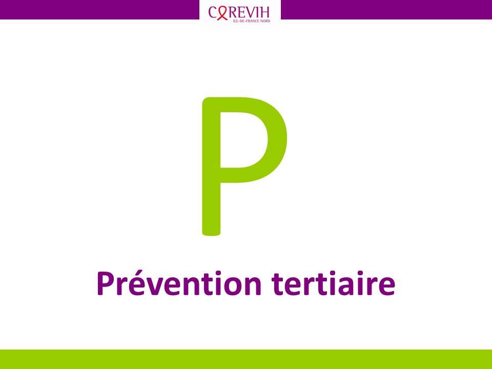 Prévention tertiaire
