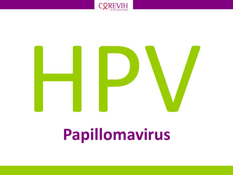 Papillomavirus ou HPV