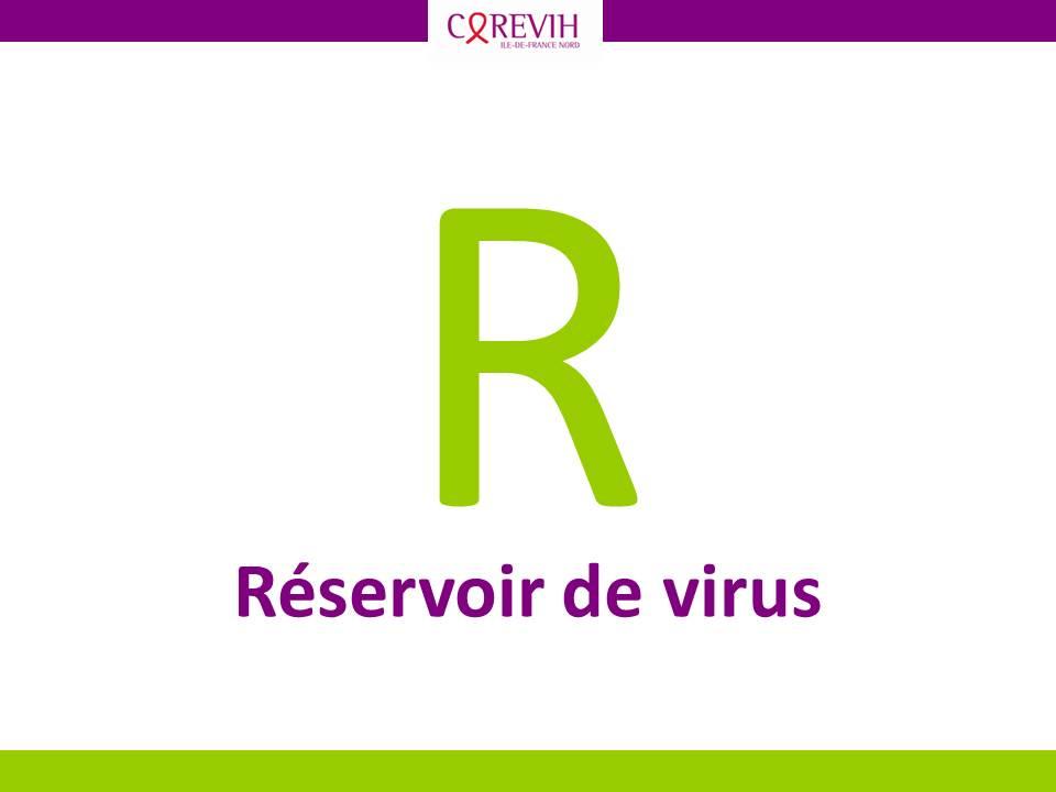 Réservoir de virus