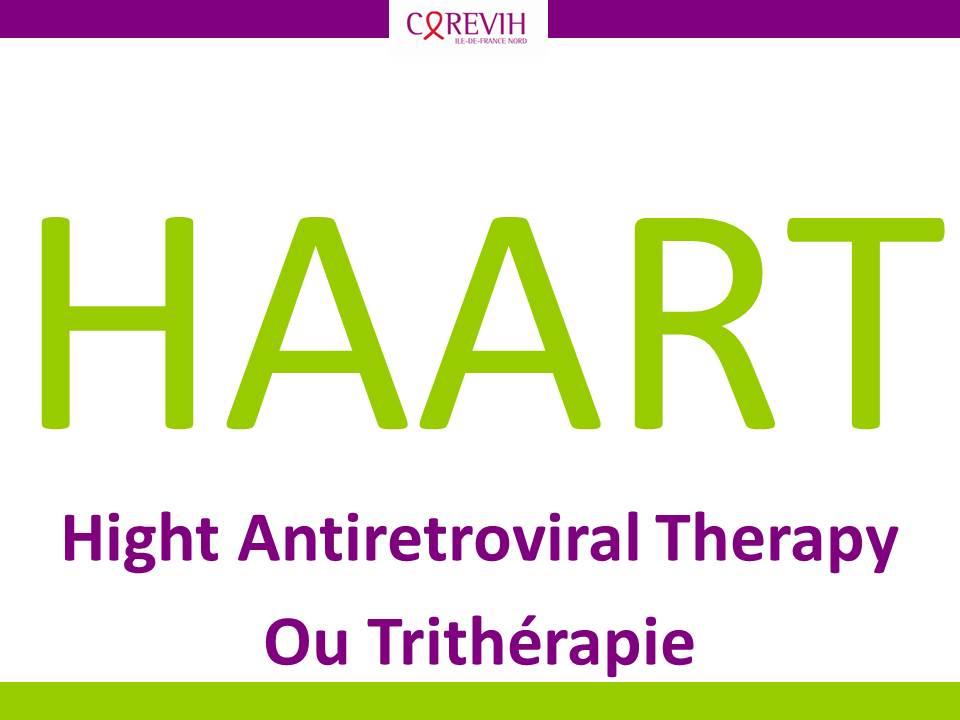 Trithérapie / HAART