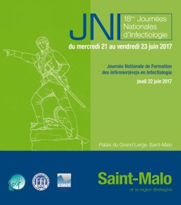 18ème Journées Nationales d'Infectiologie (JNI) - 21 au 23 juin 2017 @ Palais du Grand Large, Saint-Malo | Saint-Malo | Bretagne | France