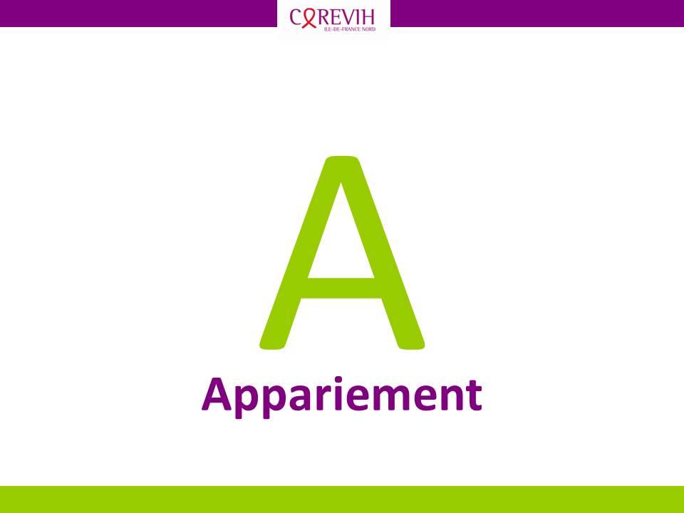 Appariement