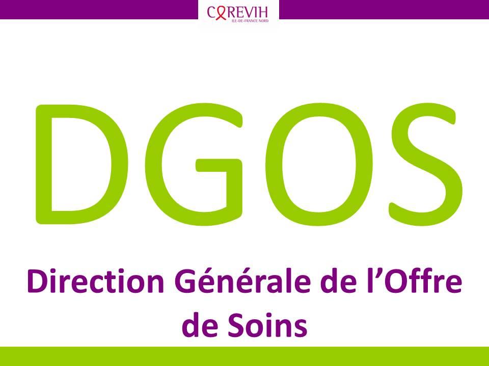DGOS - Direction Générale de l'Offre de Soins