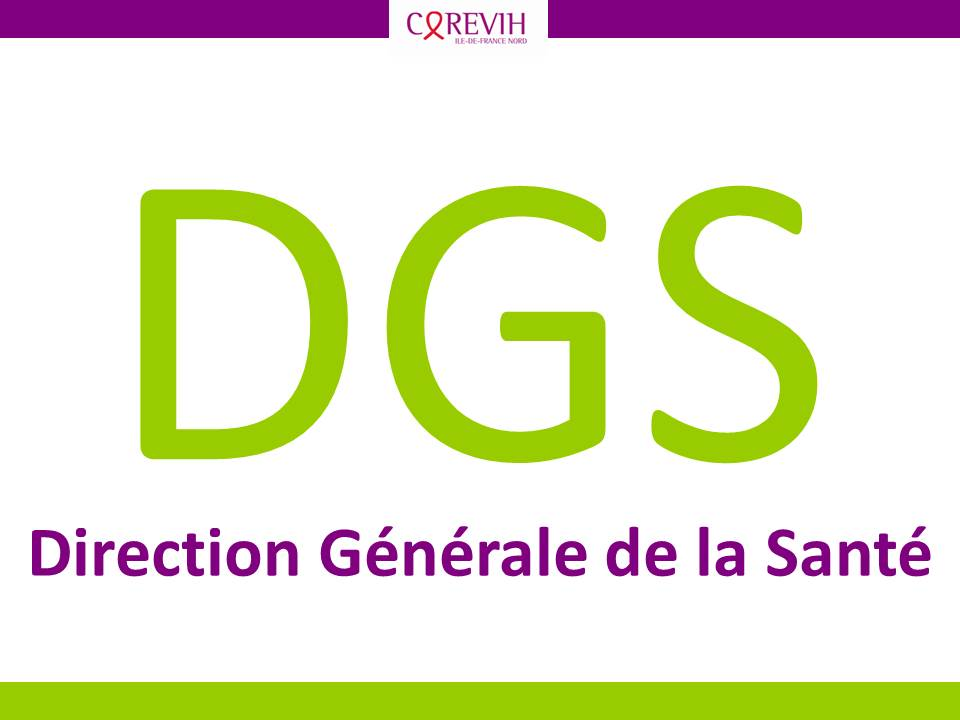 DGS - Direction Générale de la Santé