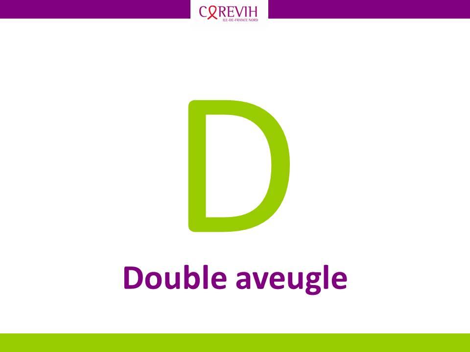 Double aveugle