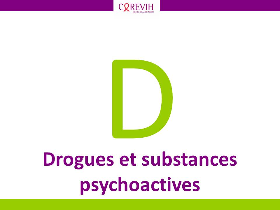 Drogues et substances psychoactives