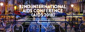 International AIDS Conference 2018 - du 22 au 27 juillet - Amsterdam @ RAI Amsterdam, | Amsterdam | Noord-Holland | Pays-Bas