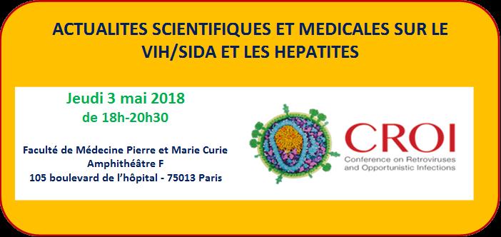 Soirée / Débat Post-Croï  Pour les patients et les associations - 3 mai 2018 @ Faculté de Médecine Pierre et Marie Curie - Amphithéâtre F | Paris | Île-de-France | France