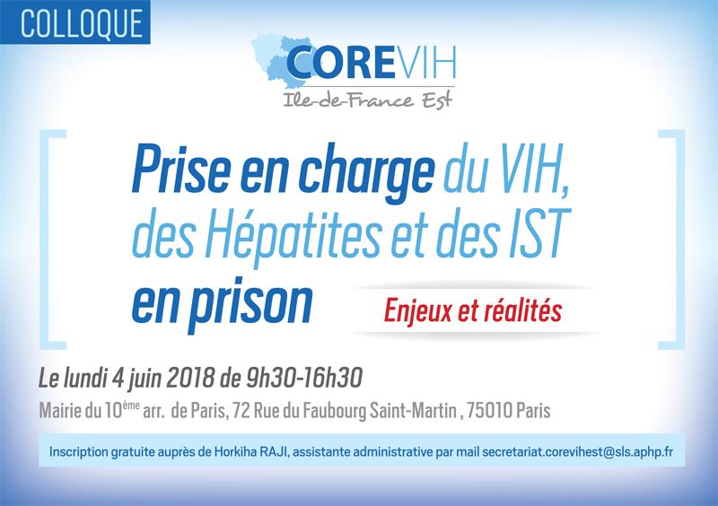 Colloque Prise en charge du VIH, des Hépatites et des IST en prison : Enjeux et réalités @ Mairie du 10ème arrondissement  | Paris | Île-de-France | France