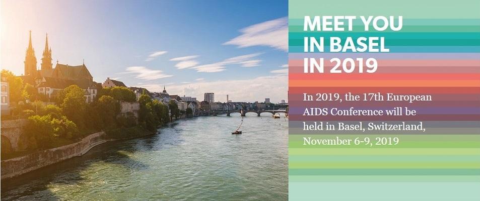 17th European AIDS Conference du 6 au 9 novembre 2019 @ Bâle | Bâle | Bâle-Ville | Suisse