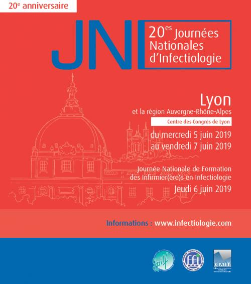 20e Journées Nationales d'Infectiologie du 05 au 07 juin 2019 @ Centre des Congrès de Lyon | Lyon | Auvergne-Rhône-Alpes | France