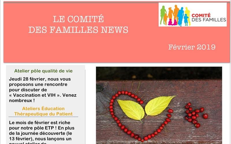 Les activités du Comité des Familles en février 2019