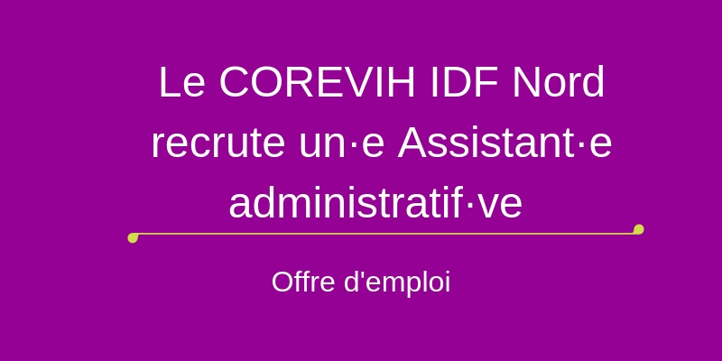 Offre emploi COREVIH IDF NORD
