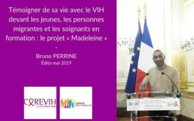 Témoigner de sa vie avec le VIH devant les jeunes, les personnes migrantes et les soignants en formation : le projet « Madeleine »