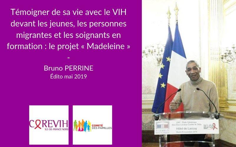 Edito COREVIH Bruno Perrine