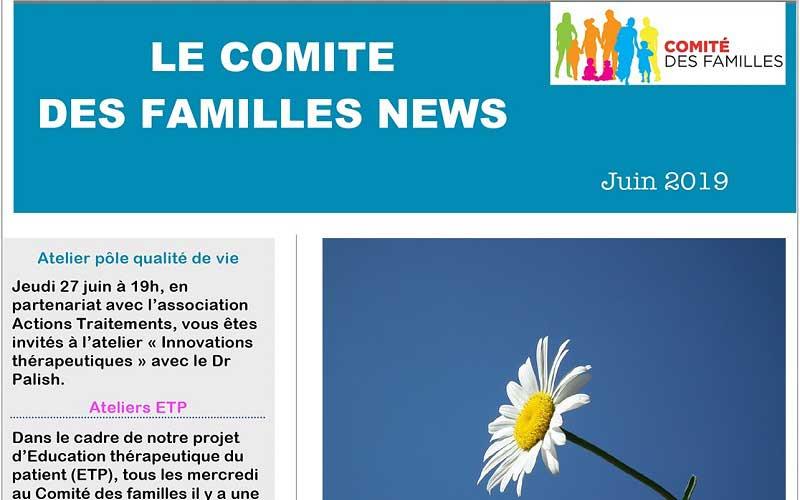 Les activités du Comité des Familles en juin 2019