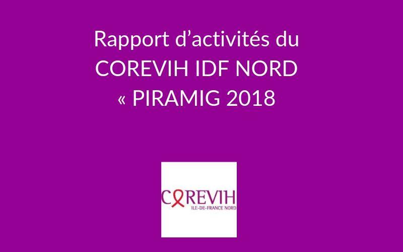 Rapport d'activités du COREVIH IDF NORD « PIRAMIG 2018 – Données 2017 »