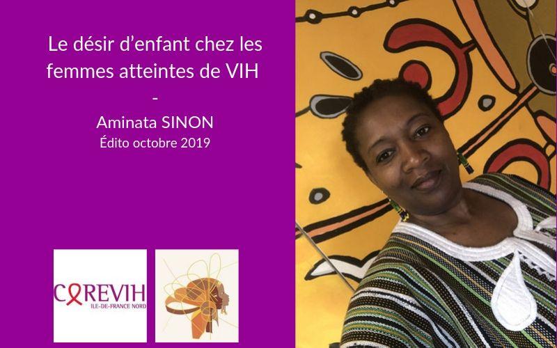Le désir d'enfant chez les femmes atteintes de VIH. Edto d'Aminata SINON