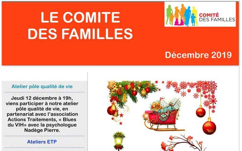 Les activités du Comité des Familles – Décembre 2019