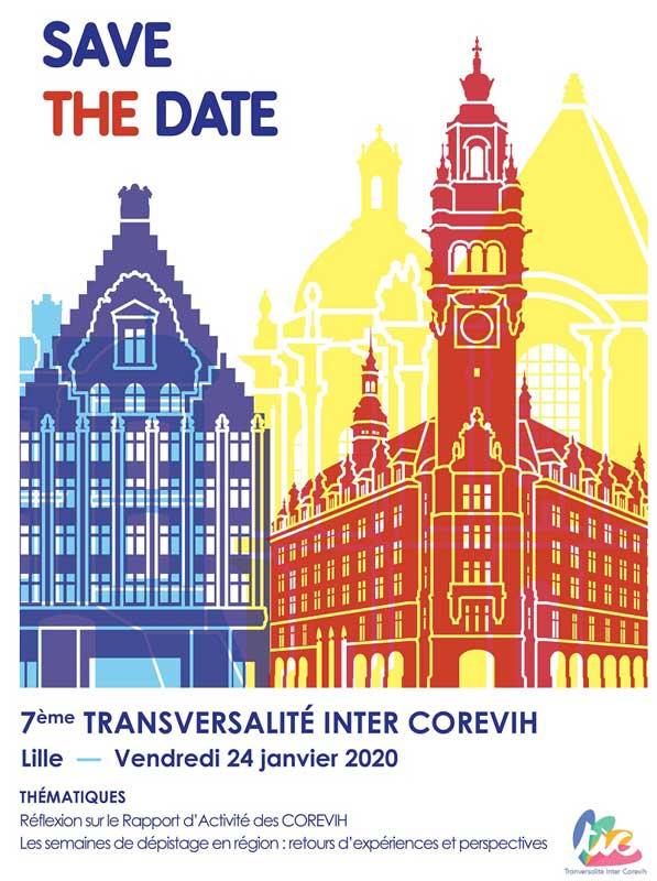 7ème Transversalité Inter COREVIH - 24 janvier 2020 @ Lille | Lille | Hauts-de-France | France
