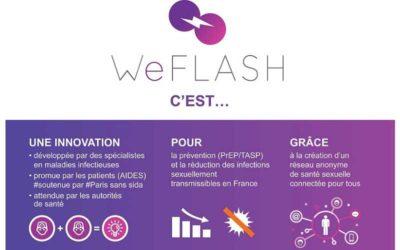 WeFLASH, une nouvelle application pour la prévention (PrEP/TASP)