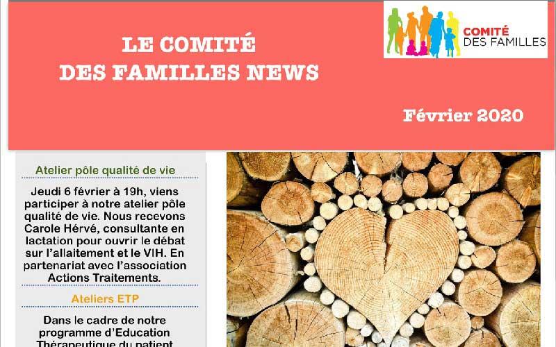 Les activités du Comité des Familles – Février 2020