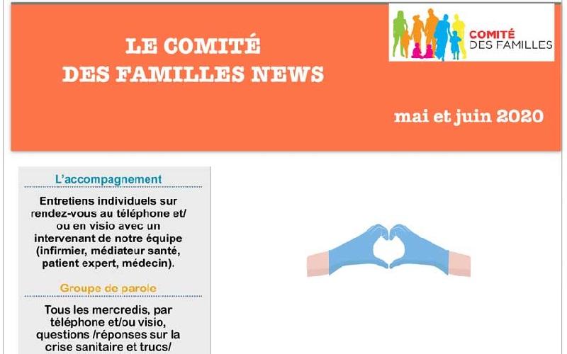 Les activités du Comité des Familles – Mai et Juin 2020
