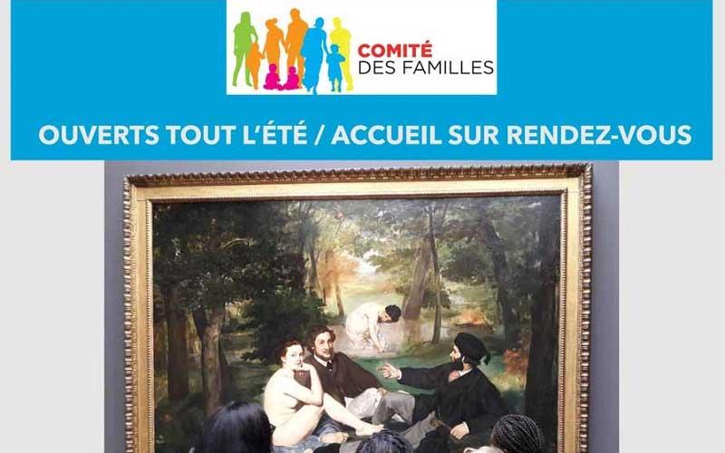 Le comité des familles reste ouvert tout l'été !