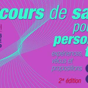 2eme édition « Parcours de santé pour les personnes Trans : expériences, vécus et propositions » – 16 octobre 2020